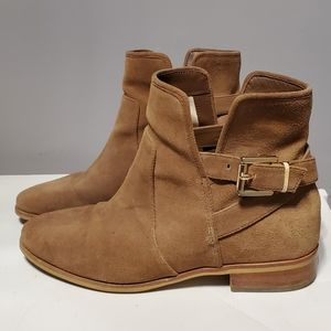 MK tan suede boots 👢